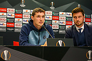 Chelsea Defender Andreas Christensen (27) during the Chelsea Press Conference ahead of the Europa League match against Slavia Prague, at Sinobo Stadium, Prague, Czech Republic on 10 April 2019.