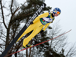 31.01.2014, Energie AG Skisprung Arena, Hinzenbach, AUT, FIS Ski Sprung, FIS Ski Jumping World Cup Ladies, Hinzenbach, Training im Bild #39 Julia Kykkaenen (FIN) // during FIS Ski Jumping World Cup Ladies at the Energie AG Skisprung Arena, Hinzenbach, Austria on 2014/01/31. EXPA Pictures © 2014, PhotoCredit: EXPA/ Reinhard Eisenbauer