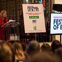 Alice Hoffman at 2017 Morristown Festival of Books, Morristown, NJ, 10/14/17.