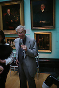 Eric Hobsbaun. Celebration of Lord Weidenfeld's 60 Years in Publishing hosted by Orion. the Weldon Galleries. National Portrait Gallery. London. 29 June 2005. ONE TIME USE ONLY - DO NOT ARCHIVE  © Copyright Photograph by Dafydd Jones 66 Stockwell Park Rd. London SW9 0DA Tel 020 7733 0108 www.dafjones.com