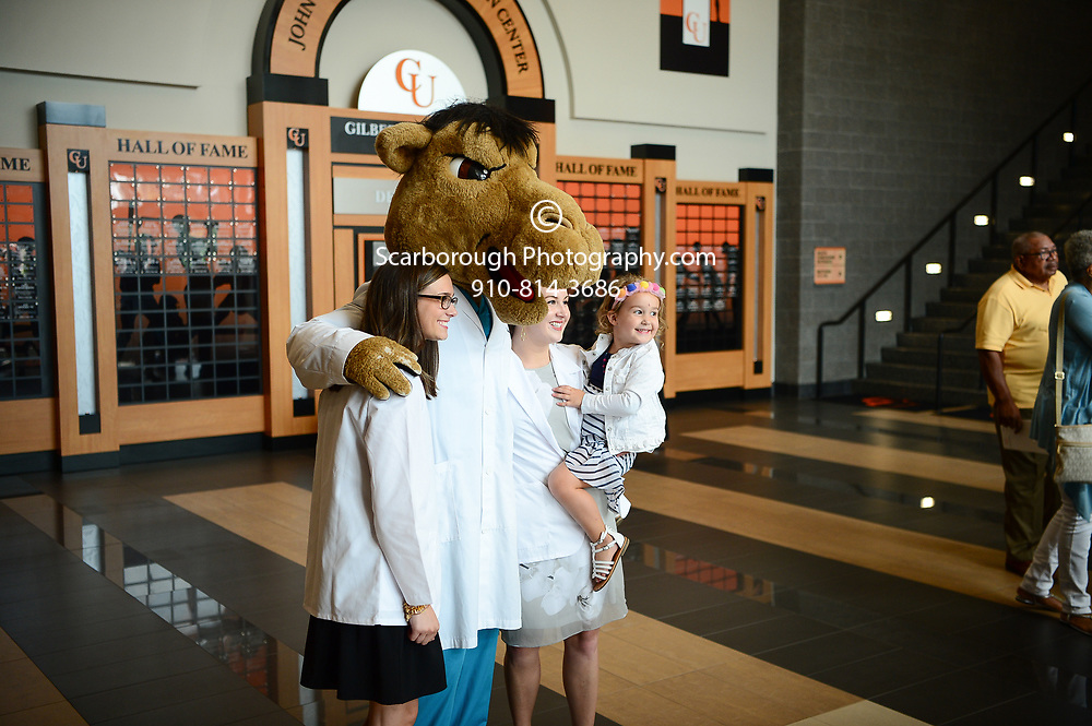 Campbell University College of Pharmacy and Health Sciences P1 White Coat Ceremony