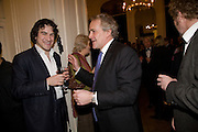 CHARLIE CAMPBELL; HENRY PORTER, Vanity Fair, Baroness Helena Kennedy QC and Henry Porter launch ' The Convention on Modern Liberty'. The Foreign Press Association. Carlton House Terrace. London. 15 January 2009 *** Local Caption *** -DO NOT ARCHIVE-© Copyright Photograph by Dafydd Jones. 248 Clapham Rd. London SW9 0PZ. Tel 0207 820 0771. www.dafjones.com.<br /> CHARLIE CAMPBELL; HENRY PORTER, Vanity Fair, Baroness Helena Kennedy QC and Henry Porter launch ' The Convention on Modern Liberty'. The Foreign Press Association. Carlton House Terrace. London. 15 January 2009