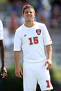 02 September 2012: NC State's Alex Martinez. The North Carolina State University Wolfpack defeated the Santa Clara University Broncos 2-1 at Koskinen Stadium in Durham, North Carolina in a 2012 NCAA Division I Men's Soccer game.