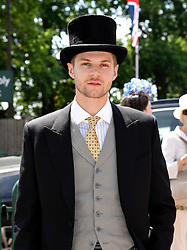 Jim Chapman attends Royal Ascot Ladies Day at Ascot Racecourse, Ascot, Berkshire on Thursday 18 June 2015