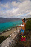 Bonaire, Netherlands Antilles, Caribbean Bonaire, Netherlands Antilles, is am island marine park and popular scuba diving Mecca.
