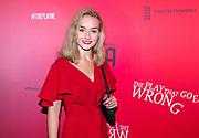 2017-10-12, Amsterdam. Premiere van The Play That Goes Wrong in het DeLaMar Theater. Op de foto: