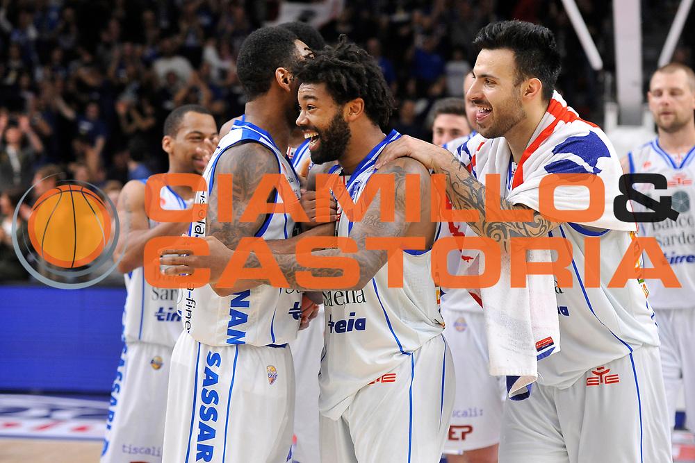 Travor Lacey -  Banco di Sardegna Dinamo Sassari<br /> Banco di Sardegna Dinamo Sassari - Enel New Basket Brindisi<br /> LegaBasket Serie A LBA Poste Mobile 2016/2017<br /> Sassari 02/04/2017<br /> Foto Ciamillo-Castoria