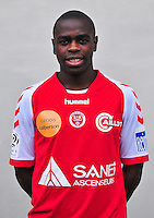 Prince ONIANGUE - 03.10.2013 - Photo officielle Reims - Ligue 1<br /> Photo : Philippe Le Brech / Icon Sport