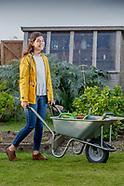 Rural fashion summer  gardening