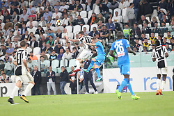 April 22, 2018 - Torino, Piemonte, Italy - in the fotoscintro between Mandzukic  della juventus and mario rui from napoli22 April 2018 - Turin, Italy - final match between F.C. Juneventu and SSC Napoli, at the Allianz Stadium in Turin, which is awarded the Scudetto in Serie A in Italy..Napoli wins 1-0. (Credit Image: © Fabio Sasso/Pacific Press via ZUMA Wire)
