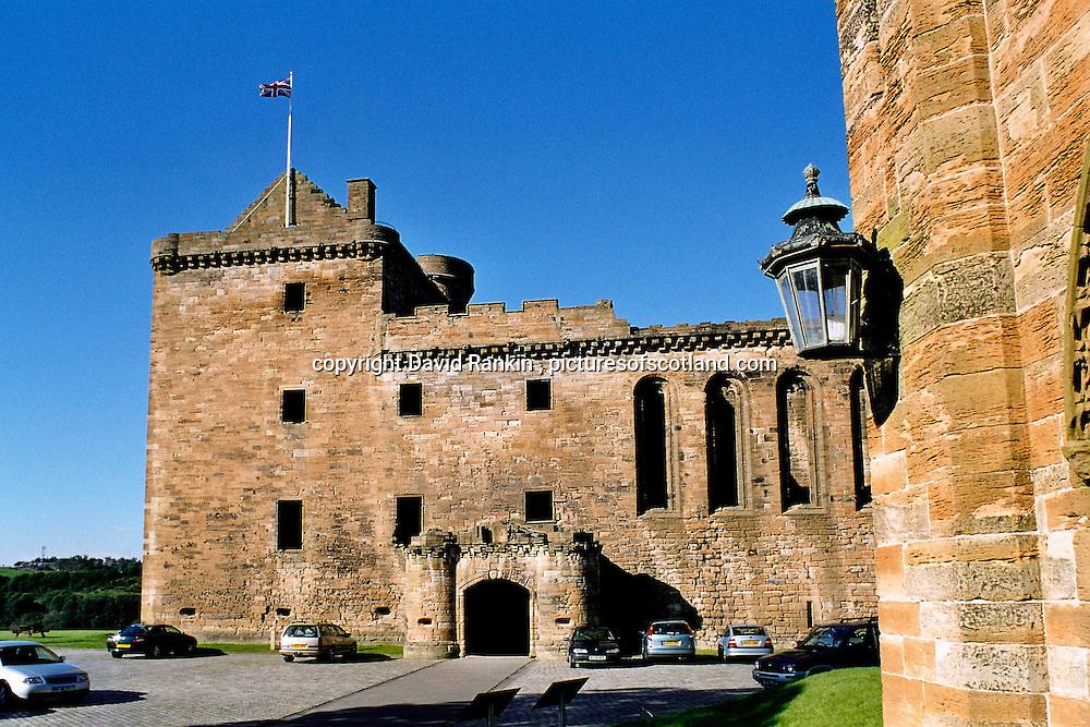 Linlithgow Palace , Linlithgow, West Lothian , Scotland