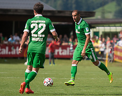 27.07.2014, Sportplatz, Fügen, AUT, FS Vorbereitung, Testspiel, SV Werder Bremen vs Atletico Bilbao, im Bild // during a friendly Match between SV Werder Bremen and Atletico Bilbao at the football stadium in Fügen, Austria on 2014/07/27. EXPA Pictures © 2014, PhotoCredit: EXPA/ Jakob Gruber