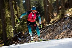 Justine Braisaz (FRA) during the Women 15 km Individual Competition at day 2 of IBU Biathlon World Cup 2019/20 Pokljuka, on January 23, 2020 in Rudno polje, Pokljuka, Pokljuka, Slovenia. Photo by Peter Podobnik / Sportida