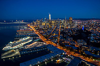 Embarcadero, Telegraph Hill & Downtown San Francisco
