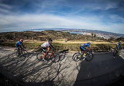 FREIBERGER Markus (AUT) of Tirol Cycling Team, ZOIDL Riccardo (AUT) of Team Felbermayr Simplon Wels during the UCI Class 1.2 professional race 4th Grand Prix Izola, on February 26, 2017 in Izola / Isola, Slovenia. Photo by Vid Ponikvar / Sportida