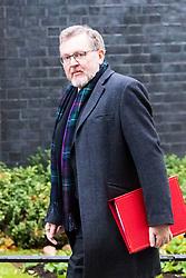 London, November 14 2017. Scotland Secretary David Mundell attends the UK cabinet meeting at Downing Street. © Paul Davey