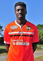 Bruno ECUELE MANGA - 16.10.2013 - Photo Officielle Lorient - Ligue 1<br /> Photo : Philippe Le Brech / Icon Sport
