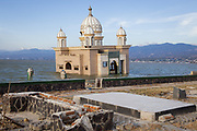 The remains of Masjid Terapung that got destroyed when an earthquake of 7.5 magnitude that hit off the coast of Donggala, Palu Sulawesi Central, Indonesia on Sept. 28th causing a tsunami.