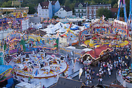 Europe, Germany, North Rhine-Westphalia, Ruhr area, Herne, the kermis in the district Crange [the kermis in Crange is the biggest fair in North Rhine-Westphalia].....Europa, Deutschland, Nordrhein-Westfalen, Ruhrgebiet, Herne, die Cranger Kirmes im Stadtteil Crange [die Cranger Kirmes ist das groesste Volksfest in Nordrhein-Westfalen].....[For each usage of my images the General Terms and Conditions are mandatory.]