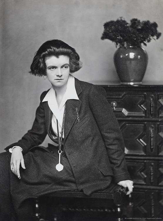 Lady Una Troubridge, sculptor and translator, England, UK, 1916