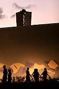 Belo Horizonte, 30 de abril de 2006..Igreja da Pampulha, obra de Oscar Niemeyer com paineis de Portinari, que integra o conjunto arquitetonico da Pampulha.
