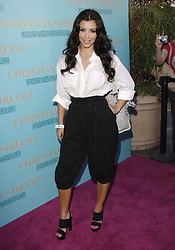 Kim Kardashian arrives for Victoria's Secret Beauty Launches VS Makeup with Limited-Edition Christian Siriano Collection held at Victoria's Secret The Grove in Los Angeles, California, USA on August 05, 2009. Photo by Tony DiMaio/ABACAPRESS.COM  | 197737_008 Los Angeles Unitd