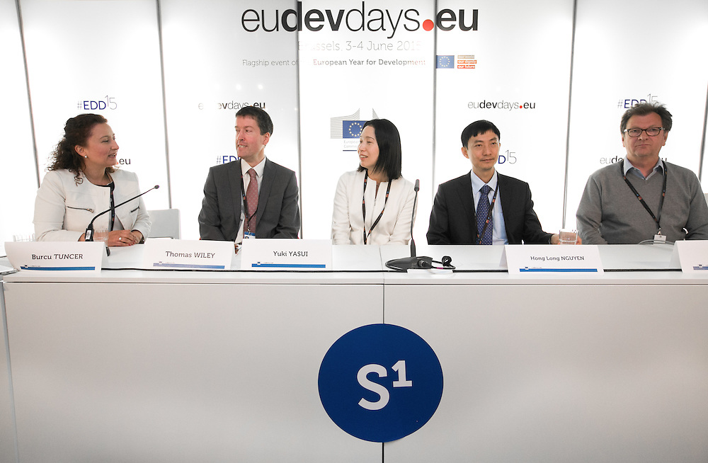 04 June 2015 - Belgium - Brussels - European Development Days - EDD - Growth - Financing the SWITCH to green SMEs across Asia , Africa and the Mediterranean © European Union