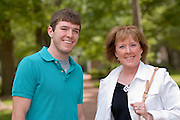 17660Mom's Weekend 2006 Candids on Campus ..Matt Herchik, Mary Ellen Herchik