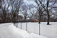 The Great Hill in the north of Central Park, New York City
