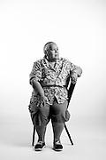 Francisca Perez Vuevara<br /> Army<br /> E-1<br /> Medical BTT Co B<br /> Sept. 1975 - July 1976<br /> <br /> <br /> Veterans Portrait Project<br /> San Antonio, TX