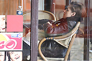 KRISTEN STEWART FILMING ' PERSONAL SHOOPER IN PARIS SUBURBS<br /> ©Exclusivepix Media