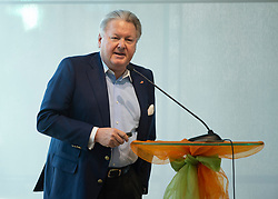 22.03.2019, Leonding, AUT, Generalversammlung, Österreich, Österreichicher Radsportverband im Bild Dir. Harald Mayer, ÖRV Präsident // during the general assembly of Austrian cycling federation at Leonding, Austria on 2019/03/23. EXPA Pictures © 2019, PhotoCredit: EXPA/ Reinhard Eisenbauer