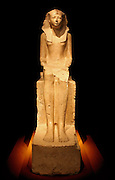 Seated Statue of Queen Hatshepsut circa 1473–1458 B.C.  Egypt, Upper Egypt; Thebes, Deir el-Bahri