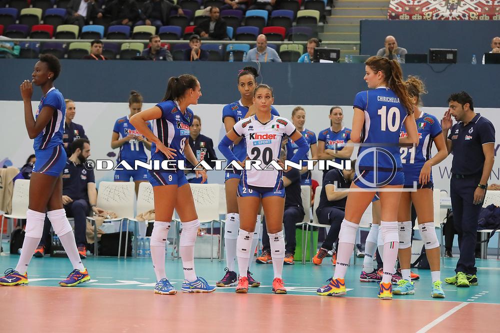 (NED - ITA CEV Volleyball European Championship - Women 2017 Europei pallavolo)