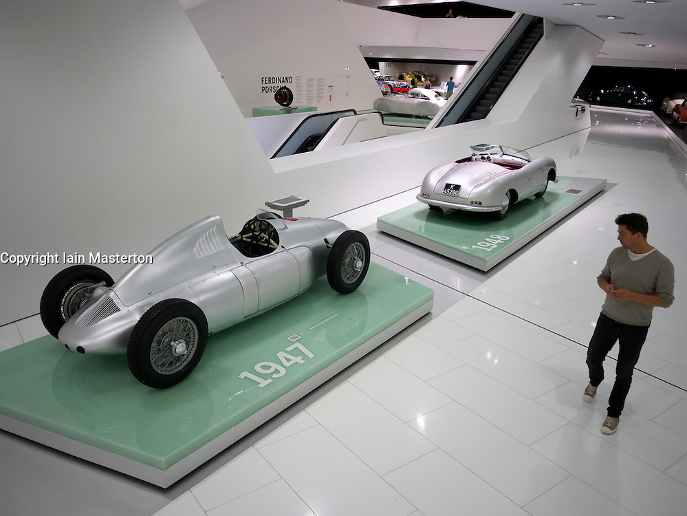 Porsche Museum in Stuttgart Germany