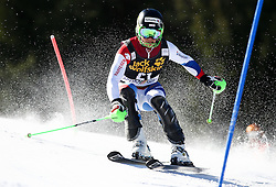 AERNI Luca of Switzerland competes during Men's Slalom - Pokal Vitranc 2014 of FIS Alpine Ski World Cup 2013/2014, on March 9, 2014 in Vitranc, Kranjska Gora, Slovenia. Photo by Matic Klansek Velej / Sportida