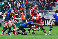 Steffon Armitage - 19.04.2015 - Toulon / Leinster - 1/2Finale European Champions Cup -Marseille<br /> Photo : Andre Delon / Icon Sport