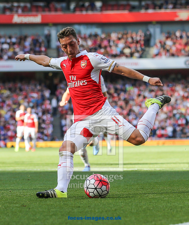 Mesut Ozil of Arsenal during the Barclays Premier League match at the Emirates Stadium, London<br /> Picture by David Horn/Focus Images Ltd +44 7545 970036<br /> 12/09/2015