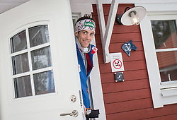18.02.2015, Framby Udde Resort, Falun, SWE, FIS Weltmeisterschaften Ski Nordisch, Forotermin Nordische Kombination, im Bild Philipp Orter (AUT) // during a Photocall of Austrian Nordic Combined Team before the FIS Nordic Ski World Championships 2015 at the Framby Udde Resort, Falun, Sweden on 2015/02/18. EXPA Pictures © 2015, PhotoCredit: EXPA/ JFK