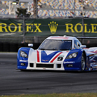 Team Action Express Racing competing at the Rolex 24 at Daytona 2012