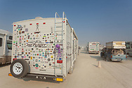 How many BRC stickers do you count? My Burning Man 2018 Photos:<br />