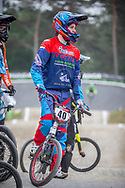 #40 (NAVRESTAD Tore) NOR at Round 6 of the 2018 UCI BMX Superscross World Cup in Zolder, Belgium