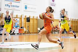 Zuzana Ivancakova of MBK Ruzomberok in action during basketball match between ZKK Cinkarna Celje (SLO) and MBK Ruzomberok (SVK) in Round #6 of Women EuroCup 2018/19, on December 13, 2018 in Gimnazija Celje Center, Celje, Slovenia. Photo by Urban Urbanc / Sportida