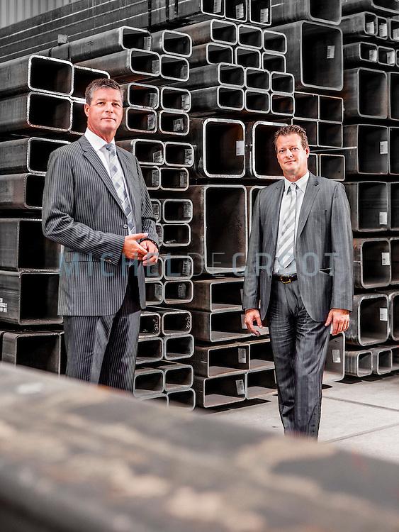 Gerben Cozijnsen & Lex Smaal, directeuren van Stigterstaal in Gorinchem