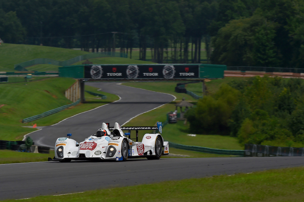 22-24 August 2014, Alton, Virginia USA<br /> 52, Chevrolet, ORECA FLM09, PC, Frankie Montecalvo, Gunnar Jeannette<br /> &copy;2014, Scott R LePage <br /> LAT Photo USA