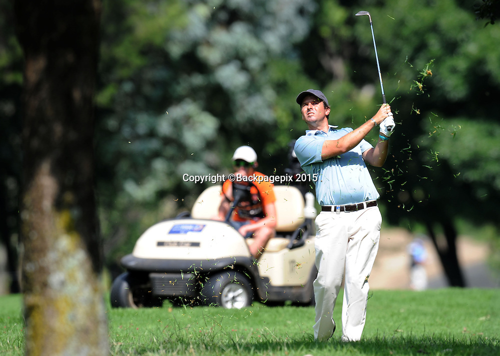Tjaart Van Der Walt during the 2015 South Africa Golf Open Championship at Glendower Golf Course, Johannesburg on the 09 January 2015  ©Muzi Ntombela/BackpagePix