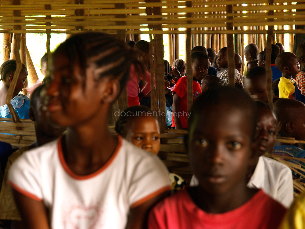 Pupils at J.S. Varfley School, Kingsville #7, Liberia.