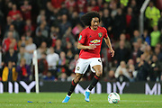 Manchester United's Tahith Chong during the EFL Cup match between Manchester United and Rochdale at Old Trafford, Manchester, England on 25 September 2019.