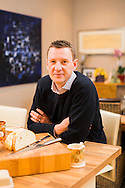 Mackays MD Martin Grant at home with his family