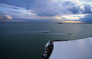 Venice Italy. Costa Victoria boat in Venice, Italy  / Le paquebot Costa Victoria a Venise, Italie    Mediteranee